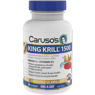 Caruso's King Krill 1500Mg Capsules 30