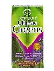 Lifestream Ultimate Greens Capsules 120