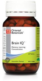 Oriental Botanicals Brain IQ 60 Tablets