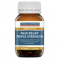 Ethical Nutrients Curcuzorb Pain Relief Triple Strength With Turmeric 30 Tablets