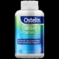 Ostelin Calcium & Vitamin D3 250 Capsules