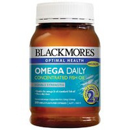 Blackmores Omega Daily Concentrated Fish Oil 200 Capsules