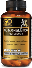 Go Healthy Go Magnesium 800 High Strength 120 Capsules