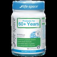 Life Space 60+ Years Probiotic Capsules 60