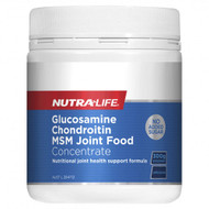 Nutra Life Glucosamine Chondroitin MSM Joint Food Concentrate Unflavoured 300g