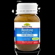 Natures Way Restore Probiotics 100 Billion 30 Capsules