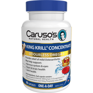 Caruso's King Krill Concentrate 60 Capsules