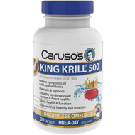 Caruso's King Krill 500Mg Capsules 120