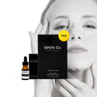 Skin O2 Hyaluronic Acid Serum 15ml + Collagen mask