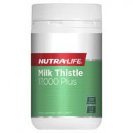 Nutra Life Milk Thistle 17000 Plus 120 Capsules