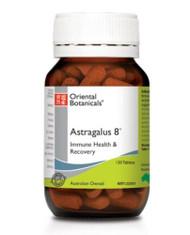 Oriental Botanicals Astragalus 8 120 Tablets
