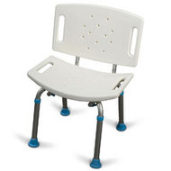 Aquasense Bath/Shower Seat With Back