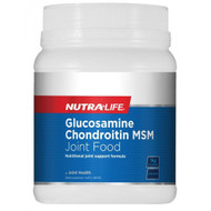 Nutra Life Glucosamine Chondroitin MSM Joint Food Concentrate Unflavoured 1kg
