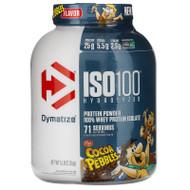 Dymatize Nutrition, ISO100 Hydrolyzed, 100% Whey Protein Isolate, Cocoa Pebbles, 5 lb (2.3 kg),Dymatize Nutrition, ISO100 Hydrolyzed, 100% Whey Protein Isolate, Cocoa Pebbles, 5 lb (2.3 kg)