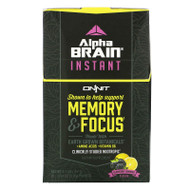 Onnit, AlphaBRAIN Instant, Memory & Focus, Blackberry Lemonade Flavor, 30 Packets, 0.14 oz (3.9 g) Each,Onnit, AlphaBRAIN Instant, Memory & Focus, Blackberry Lemonade Flavor, 30 Packets, 0.14 oz (3.9 g) Each