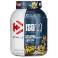 Dymatize Nutrition, ISO100 Hydrolyzed, 100% Whey Protein Isolate, Cocoa Pebbles, 3 lb (1.4 kg),Dymatize Nutrition, ISO100 Hydrolyzed, 100% Whey Protein Isolate, Cocoa Pebbles, 3 lb (1.4 kg)