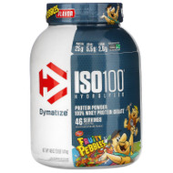 Dymatize Nutrition, ISO100 Hydrolyzed, 100% Whey Protein Isolate, Fruity Pebbles, 3 lb (1.4 kg),Dymatize Nutrition, ISO100 Hydrolyzed, 100% Whey Protein Isolate, Fruity Pebbles, 3 lb (1.4 kg)