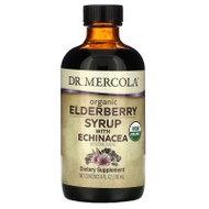 Dr. Mercola, Organic Elderberry Syrup with Echinacea,  6 fl oz (180 ml),Dr. Mercola, Organic Elderberry Syrup with Echinacea,  6 fl oz (180 ml)