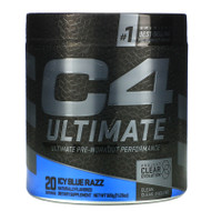 Cellucor, C4 Ultimate Pre-Workout Performance, Icy Blue Razz, 11.29 oz (320 g),Cellucor, C4 Ultimate Pre-Workout Performance, Icy Blue Razz, 11.29 oz (320 g)