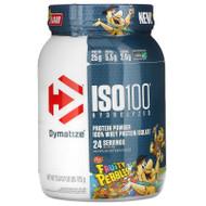 Dymatize Nutrition, ISO100 Hydrolyzed, 100% Whey Protein Isolate, Fruity Pebbles, 1.6 lb (725 g),Dymatize Nutrition, ISO100 Hydrolyzed, 100% Whey Protein Isolate, Fruity Pebbles, 1.6 lb (725 g)