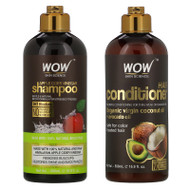 Wow Skin Science, Apple Cider Vinegar Shampoo + Conditioner Haircare, 2 Piece Kit,Wow Skin Science, Apple Cider Vinegar Shampoo + Conditioner Haircare, 2 Piece Kit