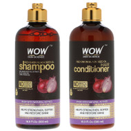 Wow Skin Science, Red Onion Black Seed Oil Shampoo +  Hair Conditioner, 2 Piece Kit,Wow Skin Science, Red Onion Black Seed Oil Shampoo +  Hair Conditioner, 2 Piece Kit