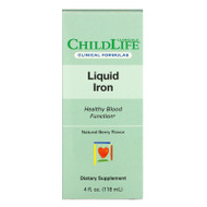 Childlife Clinicals, Liquid Iron, Natural Berry, 4 fl oz (118 ml),Childlife Clinicals, Liquid Iron, Natural Berry, 4 fl oz (118 ml)