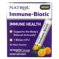 Natrol, Immune-Biotic, Orange, 1 Billion CFU, 30 Packets,Natrol, Immune-Biotic, Orange, 1 Billion CFU, 30 Packets