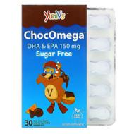 YumV's, ChocOmega, DHA & EPA, Milk Chocolate Orange Flavored, Sugar Free, 150 mg, 30 Chewables,YumV's, ChocOmega, DHA & EPA, Milk Chocolate Orange Flavored, Sugar Free, 150 mg, 30 Chewables