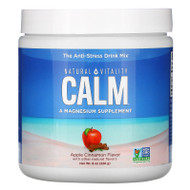 Natural Vitality, CALM, The Anti-Stress Drink Mix, Apple Cinnamon ,  8 oz (226 g),Natural Vitality, CALM, The Anti-Stress Drink Mix, Apple Cinnamon ,  8 oz (226 g)