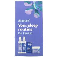 Asutra, You Sleep Routine On The Go, Travel Set, 4 Piece Set,Asutra, You Sleep Routine On The Go, Travel Set, 4 Piece Set