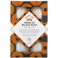 Nubian Heritage, African Black Soap, Bath Bombs, 6 Bath Bombs, 1.6 oz (45 g) Each,Nubian Heritage, African Black Soap, Bath Bombs, 6 Bath Bombs, 1.6 oz (45 g) Each
