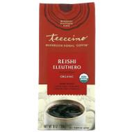 Teeccino, Mushroom Herbal Coffee, Reishi Eleuthero, Dark Roast, Caffeine Free, 10 oz (284 g),Teeccino, Mushroom Herbal Coffee, Reishi Eleuthero, Dark Roast, Caffeine Free, 10 oz (284 g)