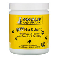 Charlie & Frank, Pet Hip & Joint, For Cats & Dogs, 120 Soft Chews,Charlie & Frank, Pet Hip & Joint, For Cats & Dogs, 120 Soft Chews