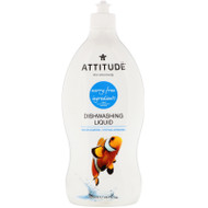 ATTITUDE, Dishwashing Liquid, Wildflowers, 23.7 fl oz (700 ml),ATTITUDE, Dishwashing Liquid, Wildflowers, 23.7 fl oz (700 ml)