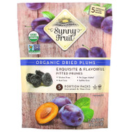 3 PACK OF Sunny Fruit, Organic Dried Plums,  5 Portion Packs, 1.06 oz (30 g) Each,Sunny Fruit, Organic Dried Plums,  5 Portion Packs, 1.06 oz (30 g) Each