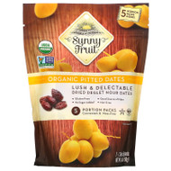 3 PACK OF Sunny Fruit, Organic Pitted Dates, 5 Portion Packs, 1.76 oz (50 g) Each,Sunny Fruit, Organic Pitted Dates, 5 Portion Packs, 1.76 oz (50 g) Each