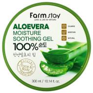3 PACK OF Farmstay, Aloe Vera 100% Moisture Soothing Gel, 10.14 fl oz (300 ml),Farmstay, Aloe Vera 100% Moisture Soothing Gel, 10.14 fl oz (300 ml)