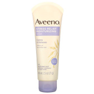 3 PACK OF Aveeno, Stress Relief Moisturizing Lotion, Lavender,  2.5 oz (71 g),Aveeno, Stress Relief Moisturizing Lotion, Lavender,  2.5 oz (71 g)