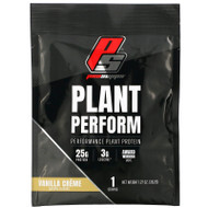 3 PACK OF ProSupps, Plant Perform, Performance Plant Protein, Vanilla Creme, 1 Packet, 1.27 oz (36.2 g),ProSupps, Plant Perform, Performance Plant Protein, Vanilla Creme, 1 Packet, 1.27 oz (36.2 g)