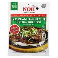 3 PACK OF NOH Foods of Hawaii, Korean Barbecue Kalbi or Bulgogi Seasoning Mix, 1.5 oz (42 g),NOH Foods of Hawaii, Korean Barbecue Kalbi or Bulgogi Seasoning Mix, 1.5 oz (42 g)