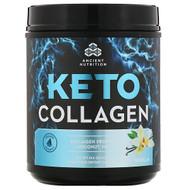 Dr. Axe / Ancient Nutrition, Keto Collagen, Collagen Protein + Coconut MCTs, Vanilla, 14.6 oz (415 g)