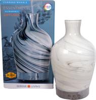 GreenAir Serene Living Essential Oil Diffuser Carrara Marble -- 1 Diffuser