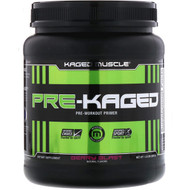 Kaged Muscle, Pre-Kaged, Pre-Workout Primer, Berry Blast, 1.33 lb (604 g)