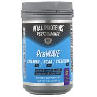 Vital Proteins, Performance, PreWave, Natural Lemon Grape,  13 oz (369 g)