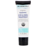 Dr. Mercola, Organic Renewing Eye & Lines Treatment, 1 fl oz (30 ml)