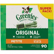 Greenies Dental Treats For Dogs Original -- 90 Dog Treats