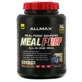 ALLMAX Nutrition, Real Food Sourced Meal Prep, All-in-One Meal, Blueberry Cobbler, 5.6 lb (2.54 kg)