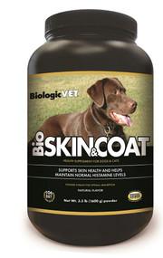 BiologicVET BioSkin & Coat Health Supplement for Dogs & Cats Natural -- 3.5 lbs
