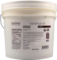 Nutiva Organic Virgin Coconut Oil -- 1 Gallon